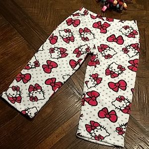 Hello Kitty🌺sleepwearplus pj.s(XL)pinkandwhite 🌺